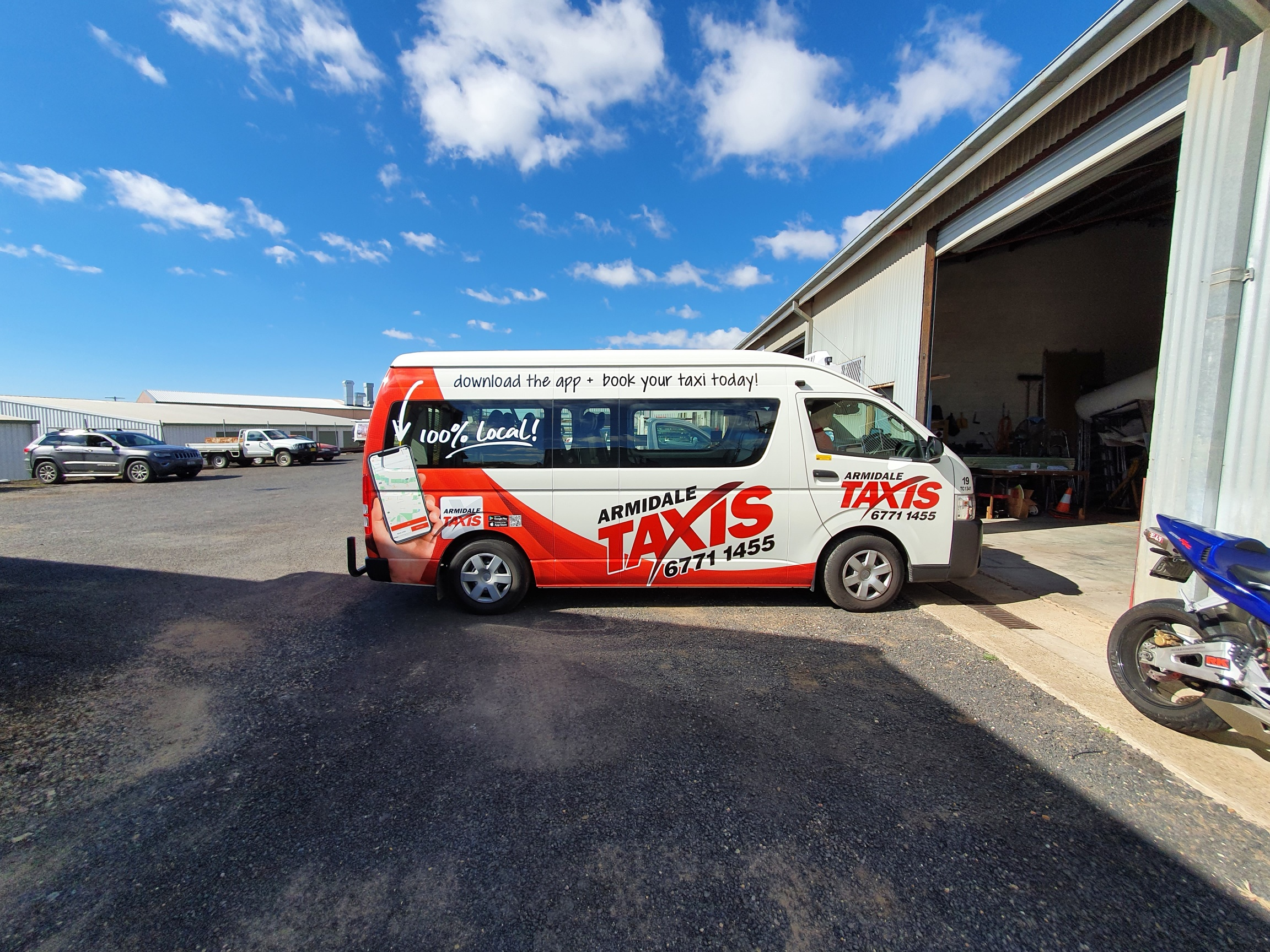 AOK Signs - Armidale Taxis