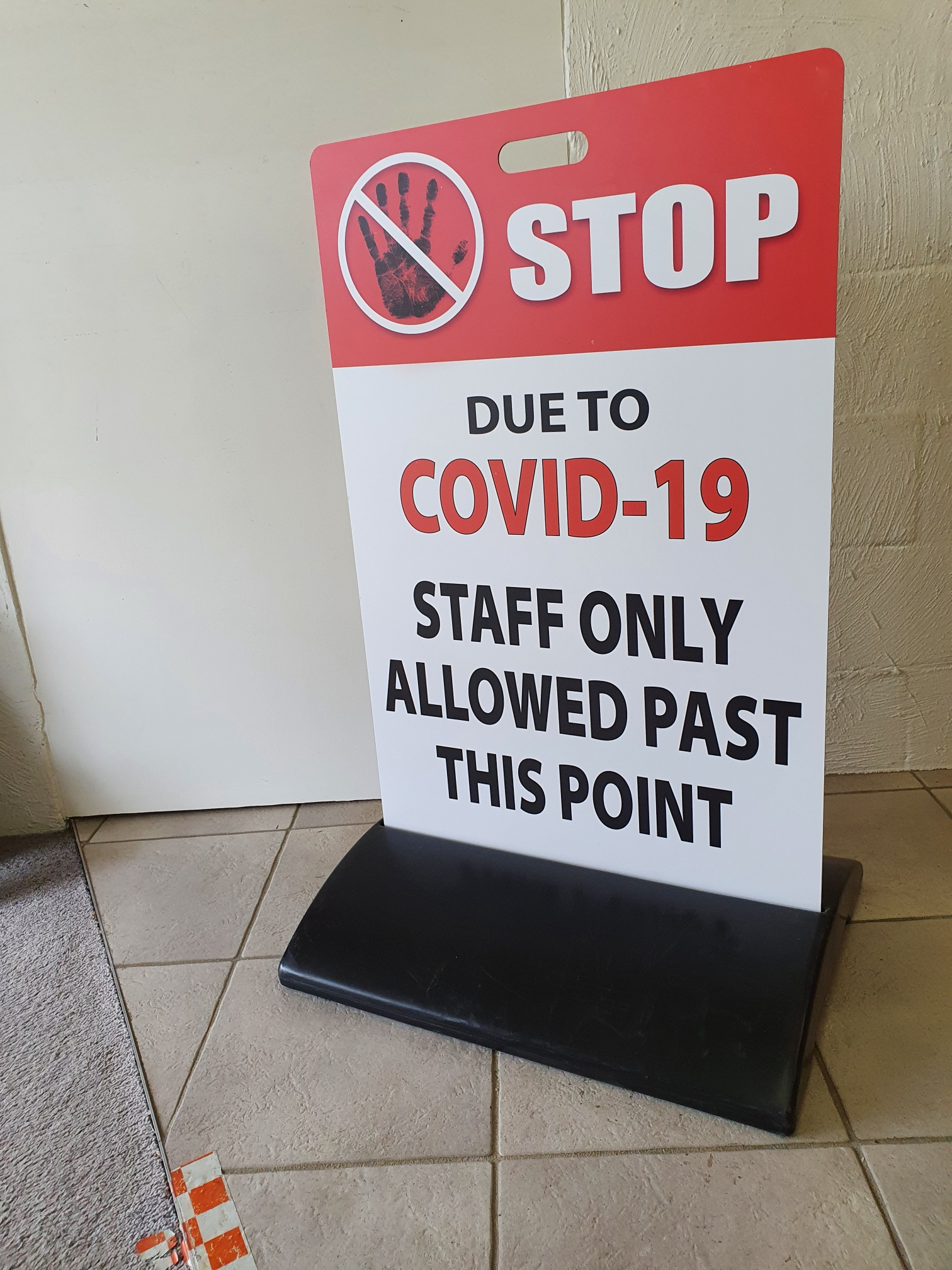 AOK Signs - COVID Sign