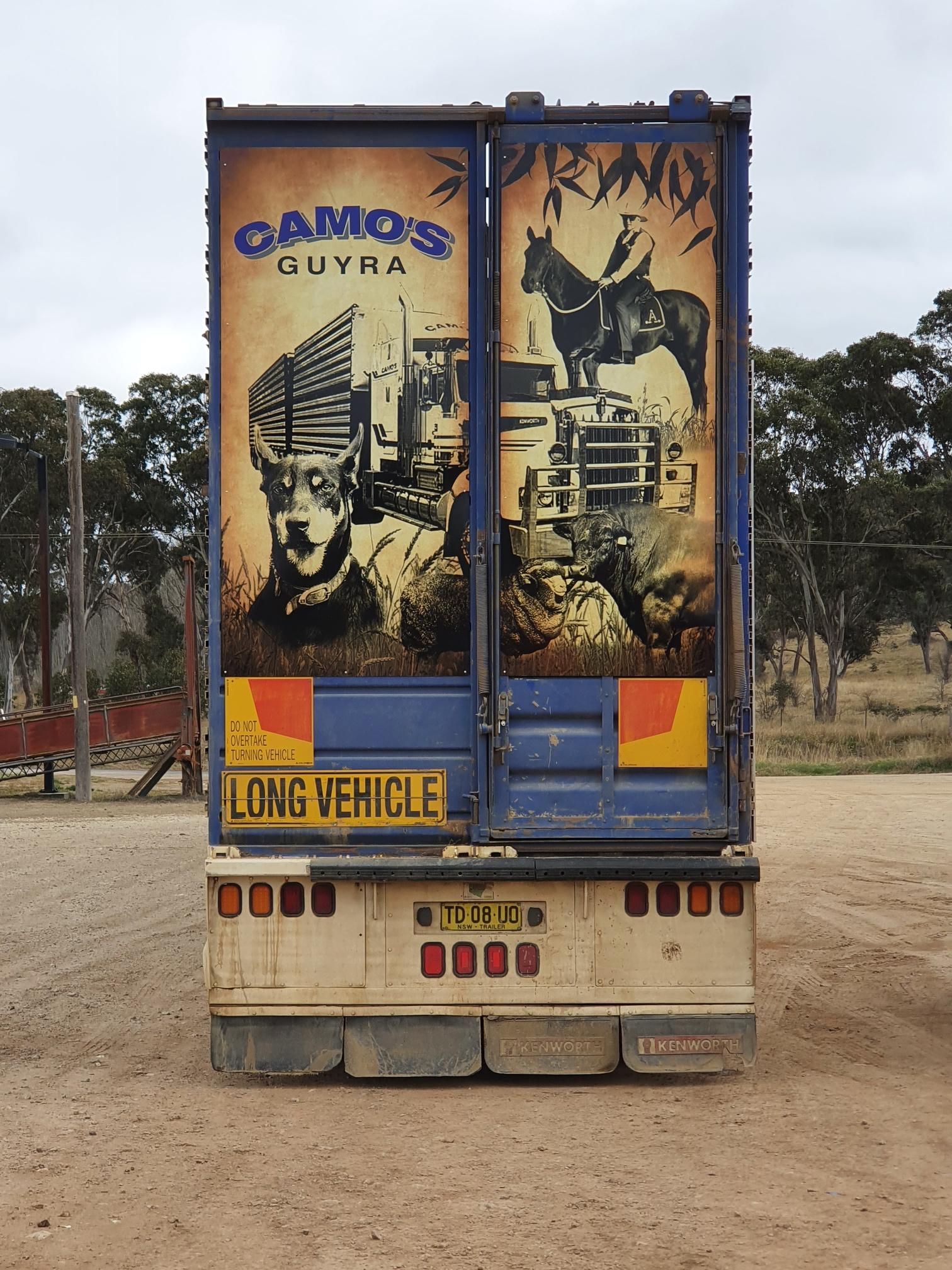 AOK Signs - Camo's Guyra Truck