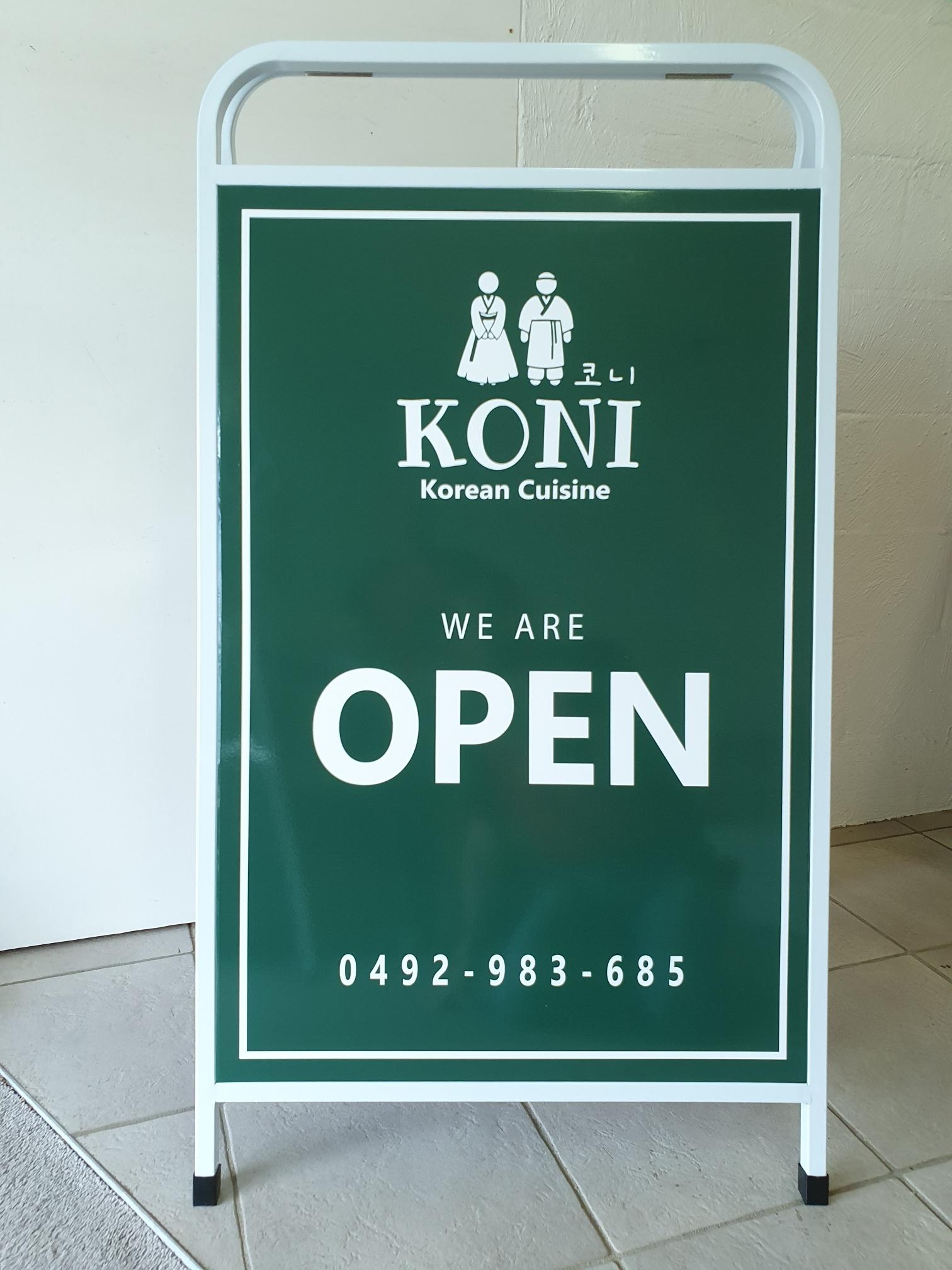 AOK Signs - Koni