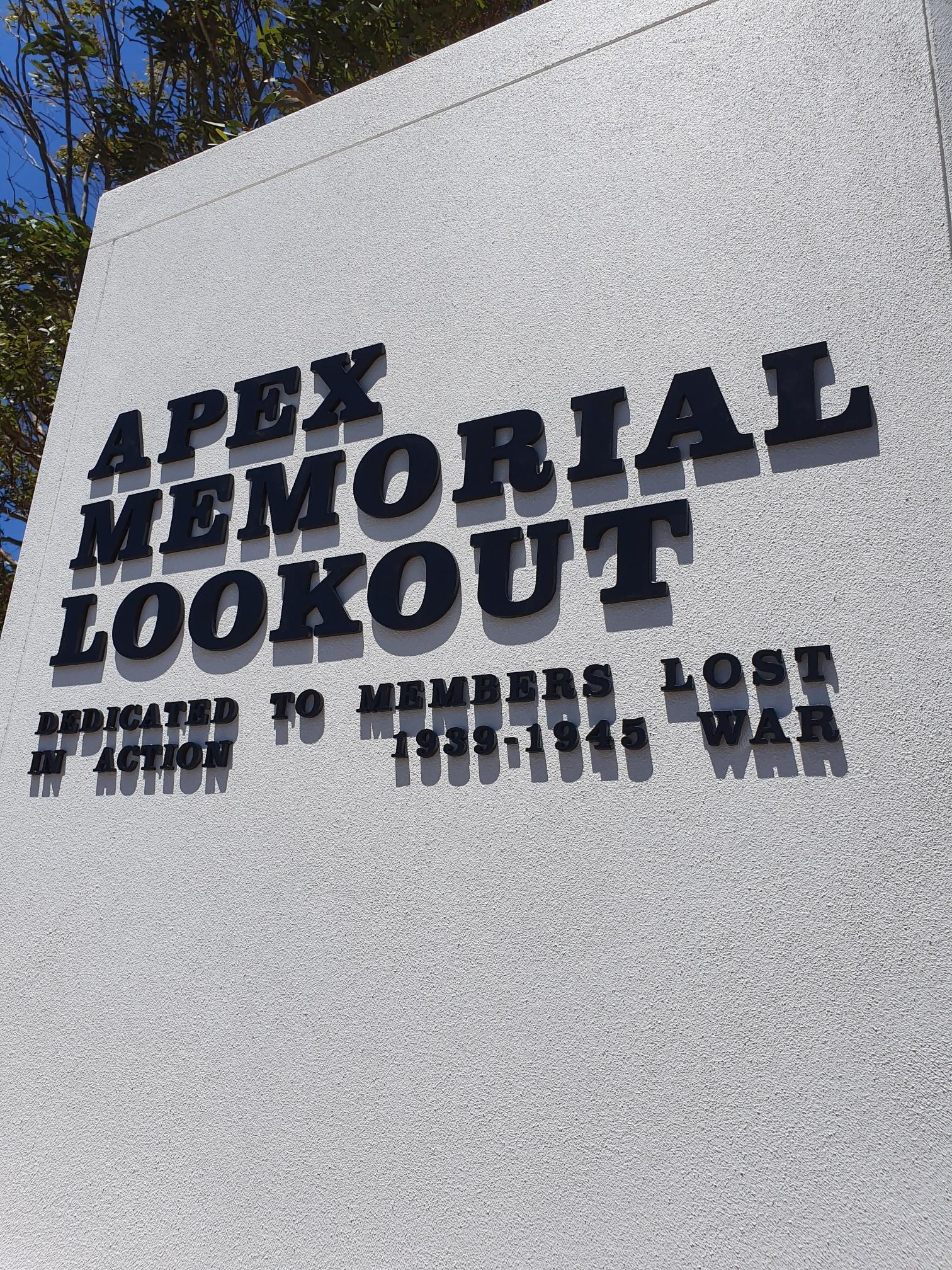 AOK Signs - Memorial Lookout
